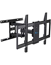 """Rentliv TV Mount Full Motion with Articulating Arms for 37-70 inch Flat Curved Screen LED 4K TVs, Tilt Swivel Rotation TV Wall Mounts TV Bracket with Max VESA 600x400mm,Fits 8"""" 16"""" Wood Studs"""