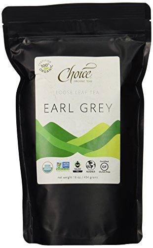Choice Organic Teas Loose Leaf Black Tea, Earl Grey, 1 (Choice Leaf)