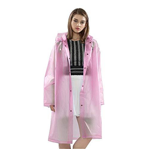 Long Imperméables Dame Air Vêtements Tourisme En Mode Imperméable Randonnée De Plein Pink Simples À Adulte Casual L'eau Poncho Adultes La Dérive P8YFHq