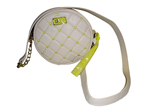 Luv Betsey Johnson Cross Body Quilted Heart Hand Bag ()