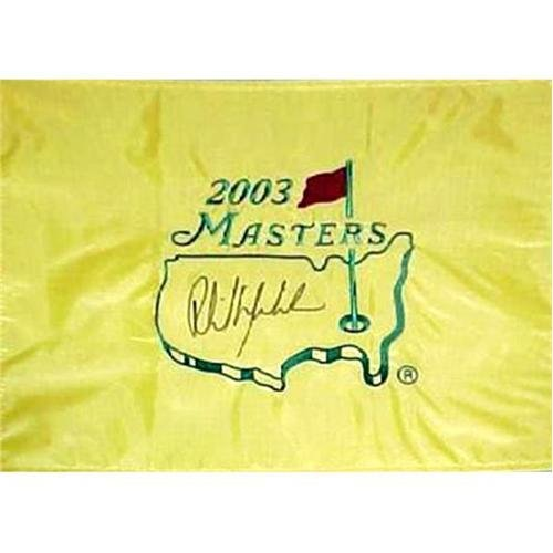 (Phil Mickelson Autographed 2003 Masters Golf Pin)