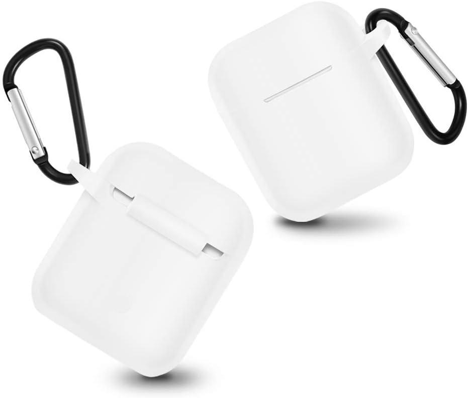 Earbud Headphones-white8 red