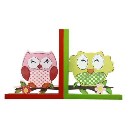 - Deco De Ville Home Decorative Wood Children's Bookends Kid's Bookcase