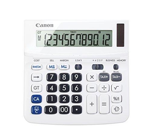 5 X Canon TX-220TSII Standard Function Calculator