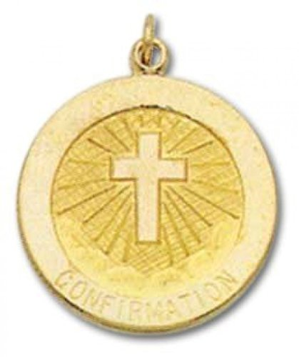 14k Confirmation Medal - 8