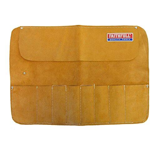 Faithfull End - Faithfull Leather Chisel Roll - 8 Pocket