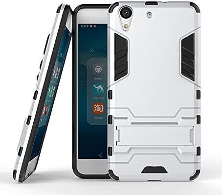 Funda Huawei Y6 II/Honor 5A, MHHQ 2in1 Armadura Combinación A ...