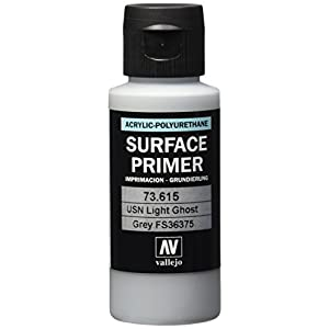 Vallejo USN Light Ghost Grey Primer Acrylic Polyurethane, 60ml 2