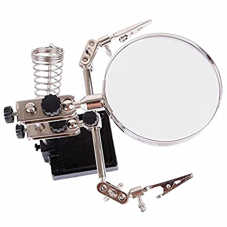 sparfix® - 2 en 1 lupa reparación soldar soporte placa base soldador iPhone Samsung: Amazon.es: Electrónica