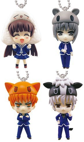 Takara Tomy Fruits Basket Animal Costume Mascot Set of 4