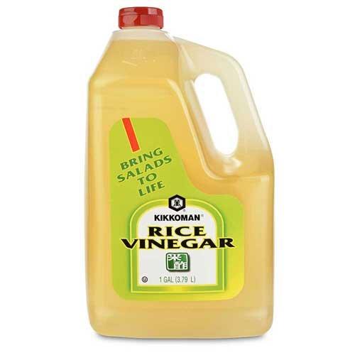 Kikkoman Rice Vinegar, 1 Gallon -- 4 per case. by Kikkoman