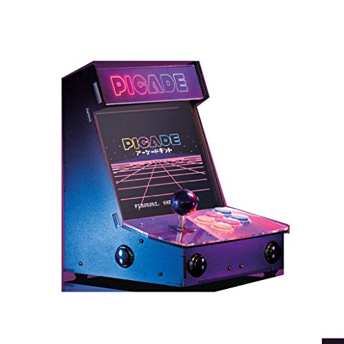 Picade with 10 Inch Display, The Ultimate Retro Gaming Console (Best Retro Gaming Console)