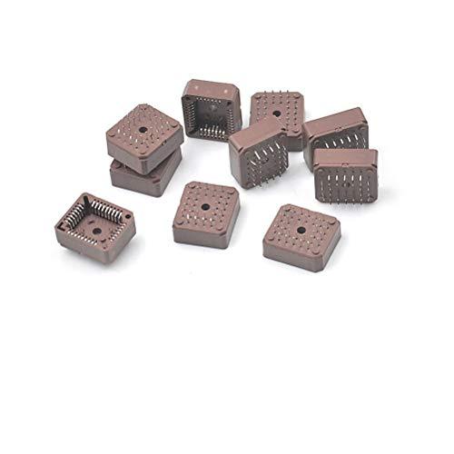 - 10 PCS Square PLCC32 32Pins DIP IC Socket Adapter PLCC Converter Chip Block PLCC Socket IC Four-seat