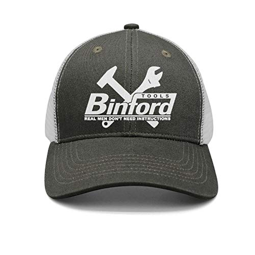 Man Popular-Home-Improvement-Binford-Tools-Logo- Baseball Caps Snapback Hats Sports - Tool Home Improvement Time
