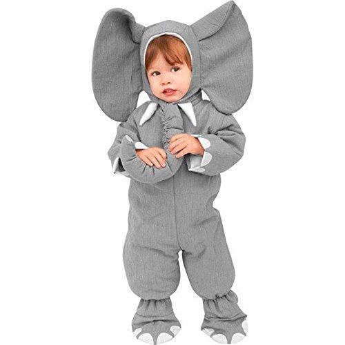 Toddler Heirloom Elephant Costume, 2T-4T, Grey -
