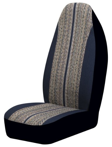Auto Expressions 804310 Blue Saddle Blanket Universal Bucket Seat Cover