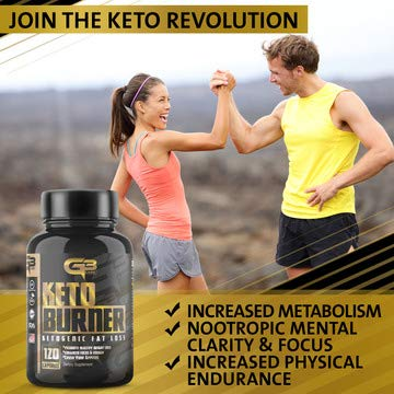 Keto Fat Burner Pills, Exogenous Ketones W/ 2g Go Bhb Keto Weight Loss Supplement & Garcinia Cambogia Blend for Men & Women. Ketone Supplement for Belly Fat, Appetite Suppressant, Energy, Ketosis by GLADIATOR GYM GEAR (Image #4)