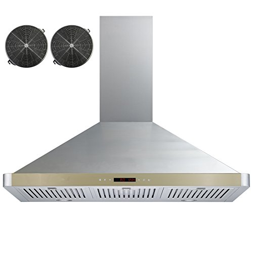 Stainless Ductless Golden GV 63190D GLD CF