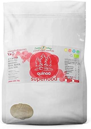Harina de quinoa ecológica ENERGY FEELINGS (1 kg)
