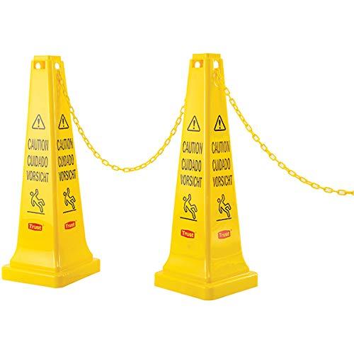 Trust Barrier Chain, 240 3/16 Inch L x 7/8 Inch H x 7/8 Inch W (5 Units)