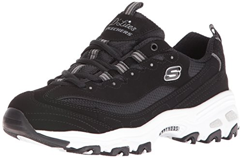 Fan Tendance D'Lites Time Me Biggest pour Basket Skechers Femme Black wUq8xHw