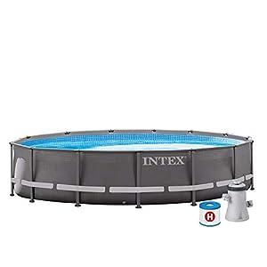 Intex 26702NP Piscina desmontable redonda, con depuradora, 305 x 76 cm