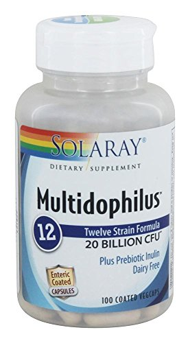 Solaray, Multidophilus 12, 100 Vegetarian Capsules