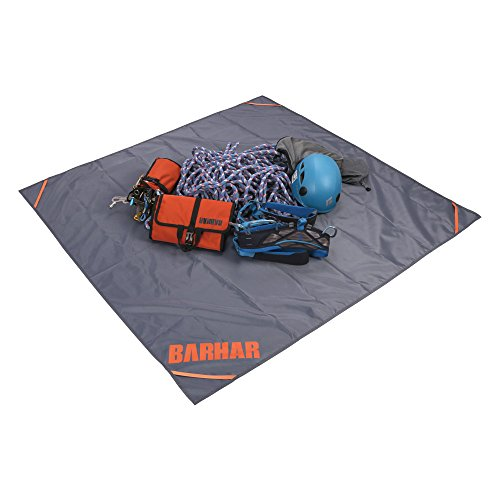 BARHAR Rock Climbing Quick Draw Carabiner Rope Gear Equipment Storage Mat Ultralight Folding Waterproof Outdoor Ground Deploy Sheet Quickly Collect Tools by BARHAR