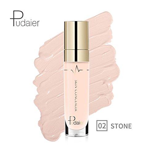 Dingji Face Eye Concealer Highlight Contour Liquid Stick Makeup Natrual Cream (B) (Stick Cover Maybelline Concealer Ivory)