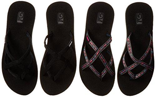 7301a5855 Teva Women s Olowahu 2 Pack Flip Flop
