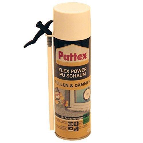 Pattex PU Schaum Füll und Dämmschaum 400 ml, PUF40