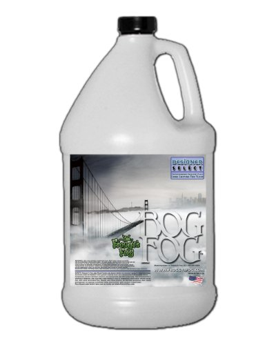 Bog Fog ® - Extreme High Density Fog Juice - HDF Fog Machine Fluid - 1 Gallon - Best Rated and Best Seller - Water Based, American Made and Just Plain Awesome (Halloween Smoke Machine)