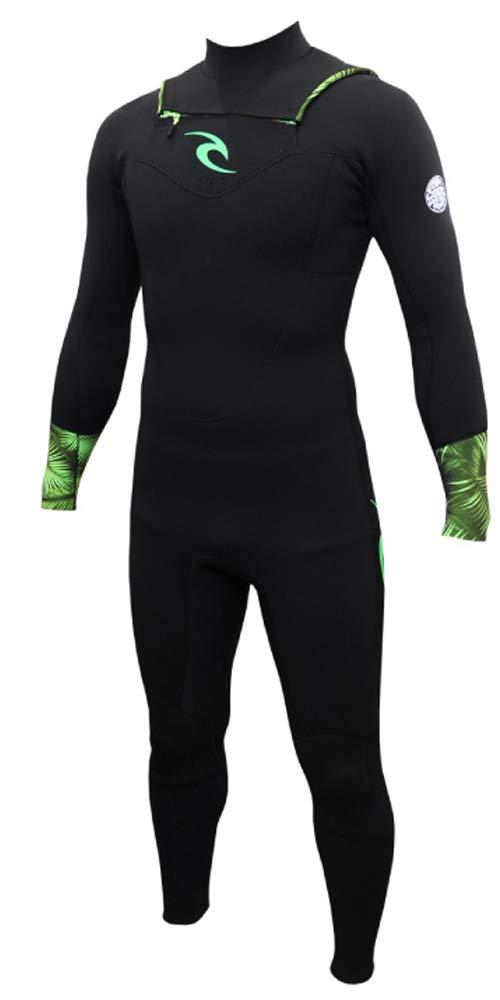 RIPCURL リップカール ウエットスーツ メンズ T30-001 VALUE WETSUIT CHEST ZIP バリュー チェストジップ PARM-緑(1GRN) LB