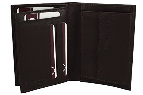 moro with purse coin wallet leather TACCHINI man SERGIO vertical Mini VA932 4Cw0qXw