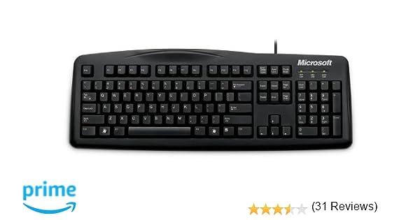 Microsoft JWD-00035 - Teclado para PC, color negro: Amazon.es: Informática
