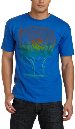 Lost Men's Faded T-Shirt,Royal Blue,Medium