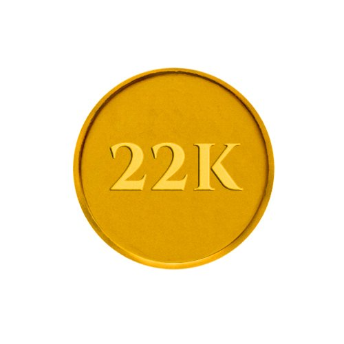 P.C. Chandra Jewellers 22k  916  1 gm Yellow Gold Coin