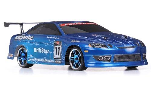 Exceed RC 1/10 2.4Ghz Electric DriftStar RTR Drift Car Light Blue Version