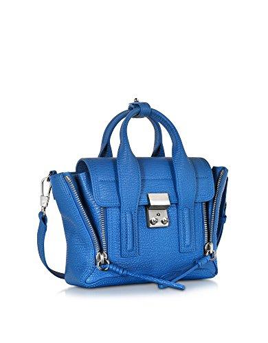 3.1 Phillip Lim Borsa A Mano Donna AP160226SKCCYAN Pelle Blu