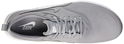 Nike Vrouwen Air Max Thea Druk Loopschoen Stealth / Zuiver Platina / Wit