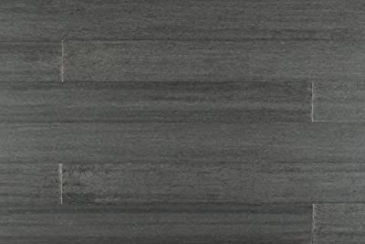 "Yanchi Bamboo - Click Lock Barn Plank Strand Woven Collection  72"" x 5"" x 1/2"" - Distressed Logan Gray"
