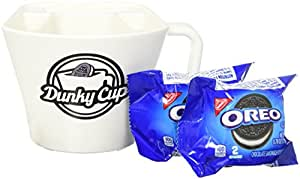 Dunky Cup - For Dunking Sandwich Cookies in Milk, Snacks, & More! (1, blue pkg)