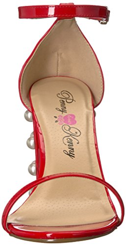 Patent Pump Ruche Kenny Penny Red Loves Women's nqw1W4HY