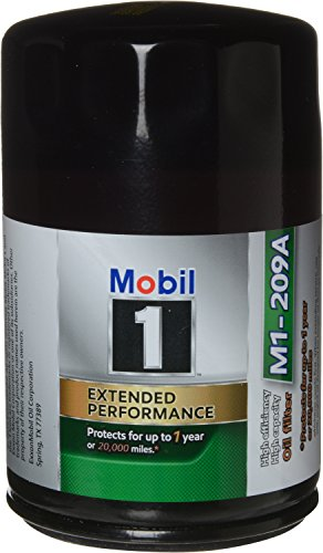 Mobil 1 M1-209A Extended Performance Oil Filter, Pack of 2 by Mobil 1