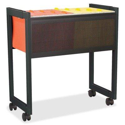 Safco Products 5352BL Steel Adjustable Mobile File, Letter or Legal Size, Black - Safco Steel Bookcase