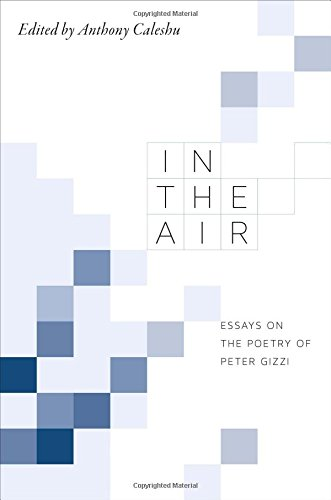 In the Air: Essays on the Poetry of Peter Gizzi pdf epub