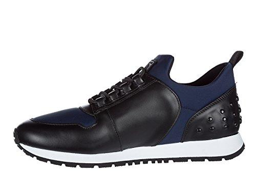Tod's scarpe sneakers donna in pelle nuove nero