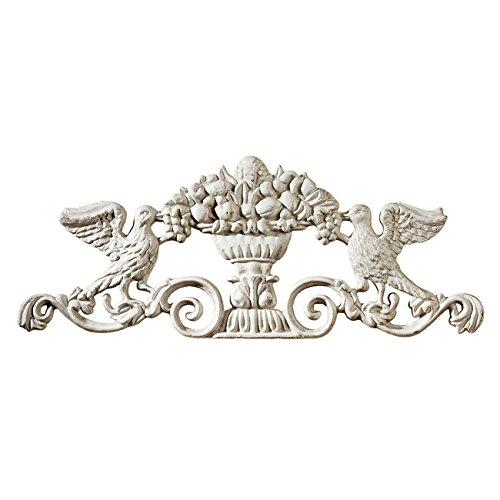 Design Toscano Urn Ornamental Architectural Pediment Wall Art ()