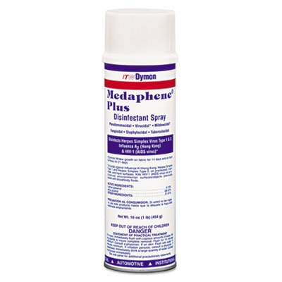 DYM34720 - Medaphene Plus Disinfectant Spray, 20oz, Aerosol Dymon Medaphene Plus Disinfectant