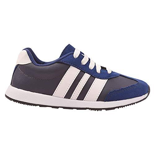 Tênis Infantil Volta As Aula Jogging Unissex Eleganteria Tamanho:28;Cor:Azul
